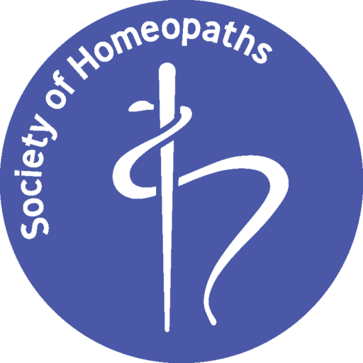 Round logo with the SOH rod of Asclepius icon in the middle