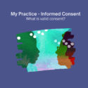 My practice informed consent image